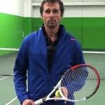 Jean-PascalRoussat, l'entraîneur de tennis en ligne