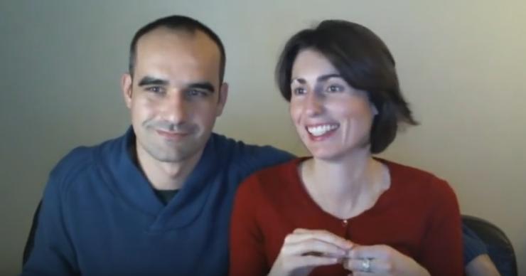 Peggy et Jeff en webinaire