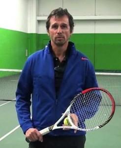Jean-Pascal Roussat, l'entraîneur de tennis en ligne